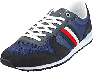 Tommy Hilfiger Iconic Material Mix Runner, Zapatillas Hombre