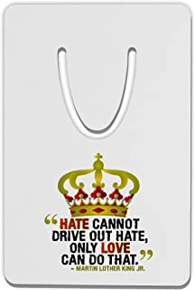 TooLoud MLK - Only Love Quote Aluminum Paper Clip Bookmark