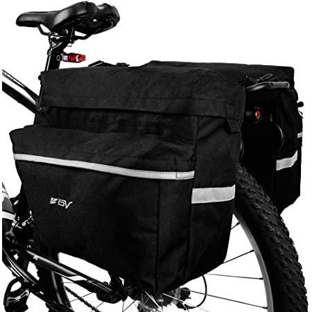 Roswheel 14892 3 in 1 Multifunction Bike Bicycle Rear Rack Panniers Back Seat Ca