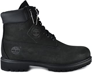 Men's 6-Inch Basic Waterproof Boots Black 10073
