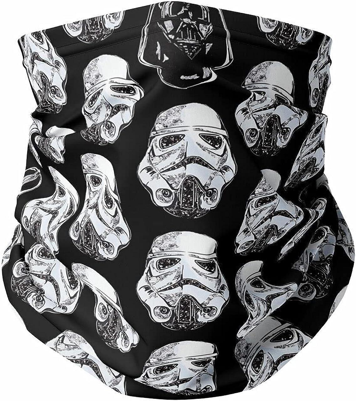 Neck Gaiter Face Covering - Vader & Storm Trooper Helmets SW Inspired