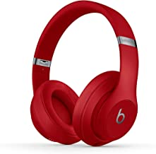 Beats Studio3 Wireless Noise Cancelling Over-Ear Headphones - Red