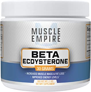 Beta-Ecdysterone Powder - Muscle Building & Fat Loss Support - 30 Grams - Muscle Empire