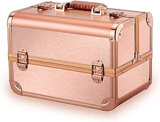 Best vanity suitcase rose gold Reviews
