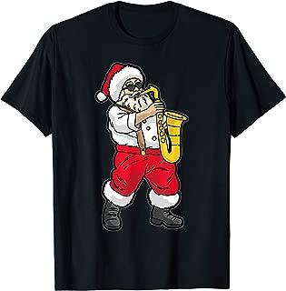 Santa Claus playing Saxophone T-Shirt