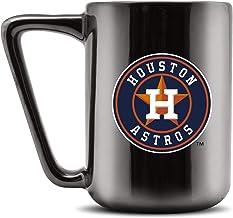 Duck House MLB Houston Astros Ceramic Coffee Mug - Metallic Black, 16oz