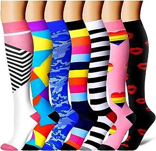 Compression Socks for Women and Men - Best Medical, Nursing, Athletic, Edema, Diabetic,Varicose Veins,Maternity,Travel,Flight Socks