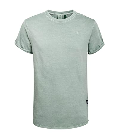 G-Star Lash Round Neck T-Shirt (Pistache Sea) Men
