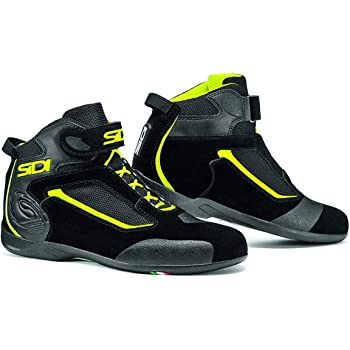 Sidi Approach Motorcycle Sneaker Size 11.5 US//46 EU Black//Yellow