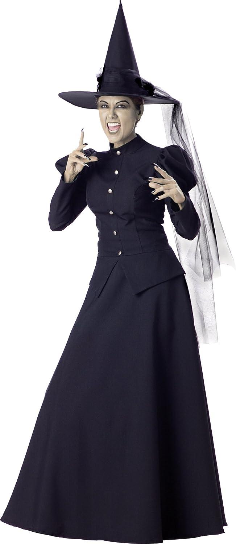 Woherren schwarz Witch Fancy dress costume Small B0009VRQ20 Kinder mögen  | Quality First