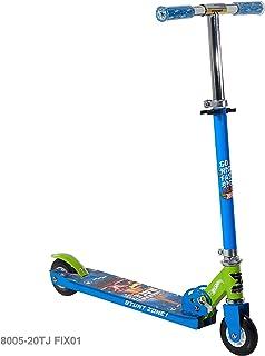 Hot Wheels 4 英寸折叠滑板车,蓝色