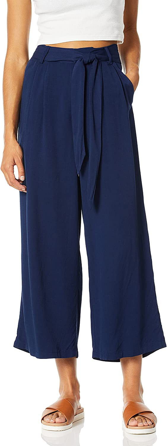 BB DAKOTA Women's Shes New Shipping Free Shipping Sophisticated Online limited product Rayon Pant Cropped Tie with