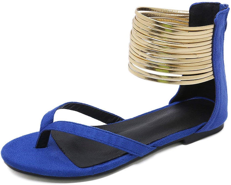 Tcvncfshfs Womens Summer Flat Flip Flops Sexy Beach Women Sandals
