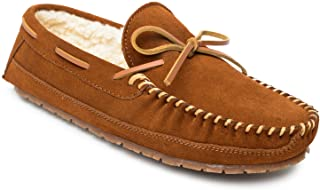 شبشب Sperry Men's Trapper بدون كعب ببطانة بربر، 7، M، بني
