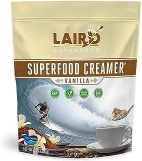 Laird Superfood Vanilla Coffee Creamer Powder - Made with Real Vanilla | Non-Dairy | Non-GMO | MCT | Vegan, 8oz Bag
