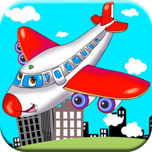 Toddler Games: Airplane Games for Toddlers & Kids! Flying Planes & Helicopters