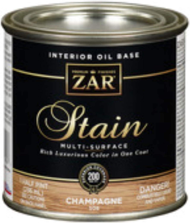 Zar 50806 1 Half Pint Ranking Lowest price challenge TOP10 Stain Oil Champagne Base Interior