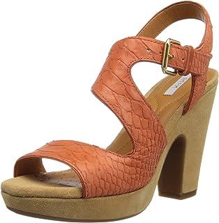 ba0dff45139ed5 Geox Sandales, Couleur Marron, Marque, modèle Sandales D NURIT B Marron