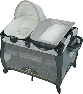 Graco Pack 'n Play Playard Quick Connect Portable Napper with Bassinet, Teddy