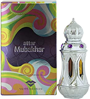 Attar Mubakhar Concentrated Perfume Oil by Swiss Arabian for Unisex - 20 ml