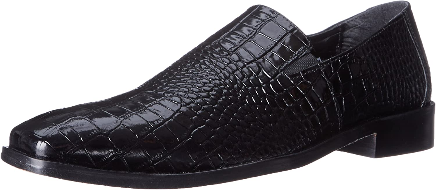 Stacy Adams Men's Galindo Slip-On Loafer, Loafer, schwarz, 10.5 M US  mit 60% Rabatt