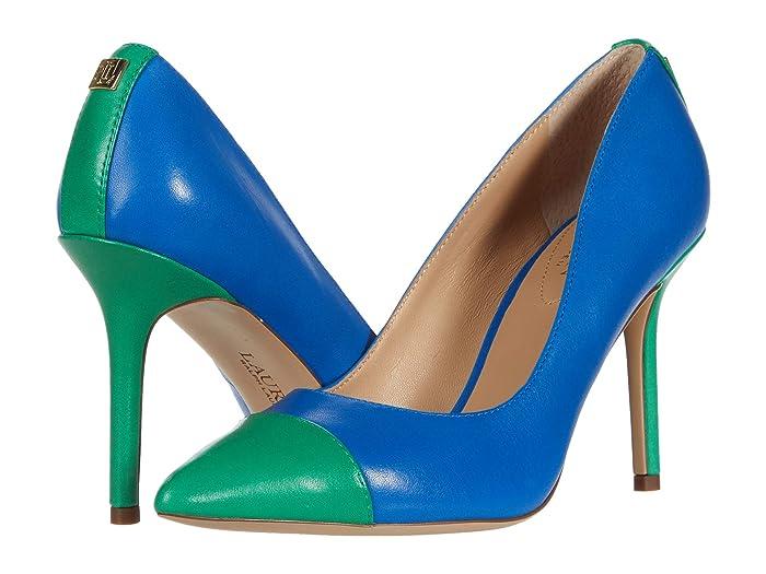LAUREN Ralph Lauren  Lindella (Masai Blue/Spring Emerald) Womens Shoes
