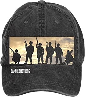 Aiyle Bonee Band of Brothers Wallpapers Adjustable Baseball Caps for Women