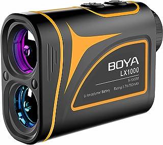 BOYA ゴルフ レーザー距離計 1100ydまで対応 内蔵式充電池 スロープ 高低差機能 収納ケース付き レンジファインダー 距離測定器 日本語取扱説明書 1 正規品 LX1000