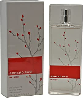 Armand Basi Red By Armand Basi For Women. Eau De Toilette Spray 3.4 Ounces