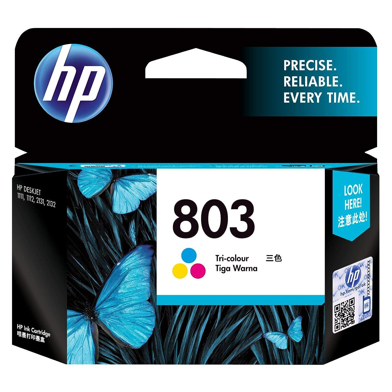 HP 803 Tri Color Original Ink Cartridge Ink Cartridges