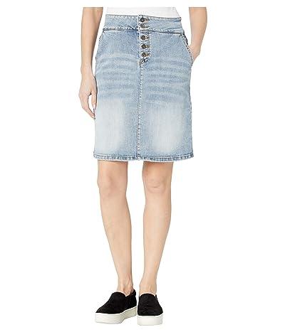 Prana Aubrey Denim Skirt (Summer Wash) Women