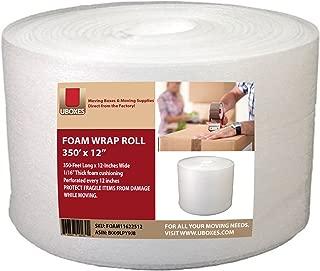 UBOXES Foam Wrap Roll 320' x 12