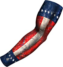 B-Driven Sports Arm Sleeve, Athletic Sports Compression USA, Mexico, Puerto Rico, Cuba, Canada   Youth, Men & Women Athletes   1 Sleeve