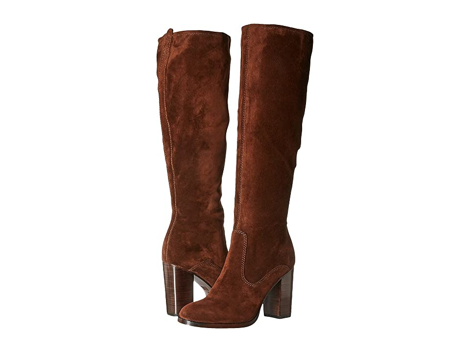 Frye Claude Tall (Brown Oiled Suede) Women