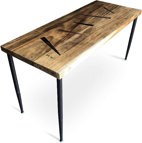UMBUZ Solid Walnut Wood Slab Desk