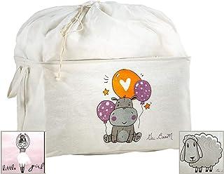 Gai BooM - Boîte de jeu pour enfants - Panier à jouets pliable- 2 variantes- Ouvert ou sac et poignées - Pour organiser la...