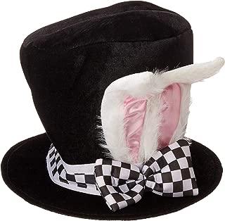 Jacobson Hat Company Men's Adult Black Velvet Bunny Ear Top Hat