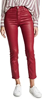 AG Adriano Goldschmied womens LEATHERETTE ISABELLE Casual Pants