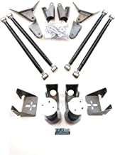 TS - Complete Rear Universal Active Air Smooth Ride 4link Suspension Kit with 110 Tapered Air Sleeve Springs