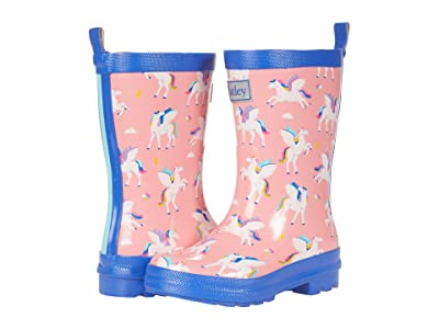 Hatley Kids Magical Pegasus Shiny Rain Boots (Toddler/Little Kid) Girl