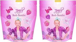 JoJo Siwa Bath Fizzers Bath Bomb Set - 2 bags of 2 Bath Fizzers - 4 Total