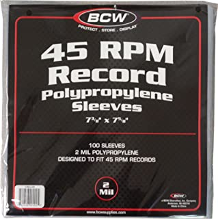 Best 7 inch card record sleeves Reviews