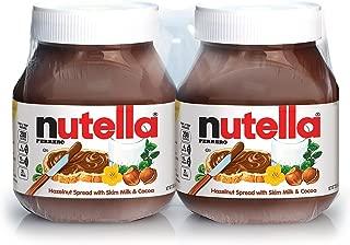 Nutella Hazelnut Spread Twin Pack 26.5 Oz. Jars, 2 ct. A1