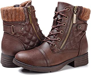 Best womens combat boots ankle Reviews