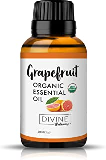 Divine Botanics Grapefruit Organic Essential Oil (Organic 30ml)