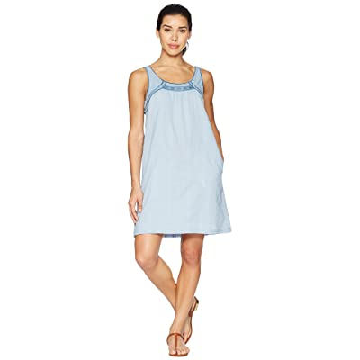 Carve Designs Brooke Dress (Chambray) Women