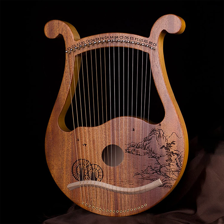 LFSYYQ Lyre Harp Ranking TOP5 19 Metal Strings Be super welcome Mahogany