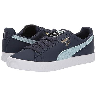 PUMA Clyde Core (Peacoat/Light Sky/Puma White) Shoes