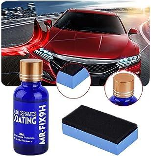 9H Nano Ceramic Coating, Tracffy Mr Fix Revestimiento Ceramico Coche, Super Hidrofóbico Pulido Car Coating, Anti Arañazos Coche Protección de Pintura