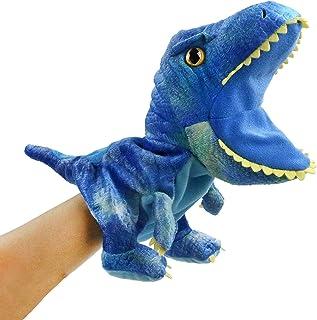 HooYiiok Plush Dinosaur Hand Puppets,T-rex Dinosaur Stuffed Animal Cute Soft Plush Toy Great Birthday Gift for Kids 11 inc...